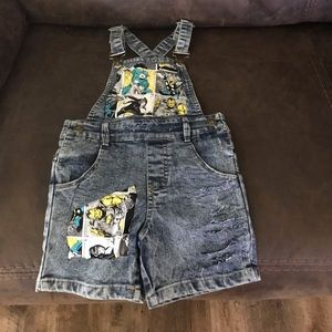 Other - 💙💛 New 4T Boys Avengers Superhero Overalls